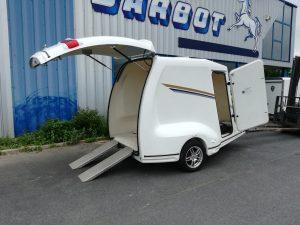 Remorque fourgon barbot z phyr remorque occasion - Remorque porte moto occasion le bon coin ...