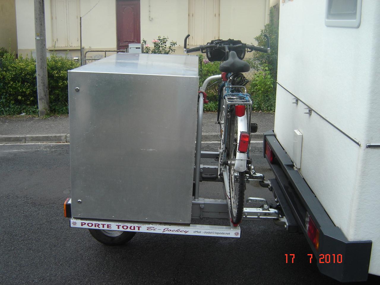 remorque mono roue cladel