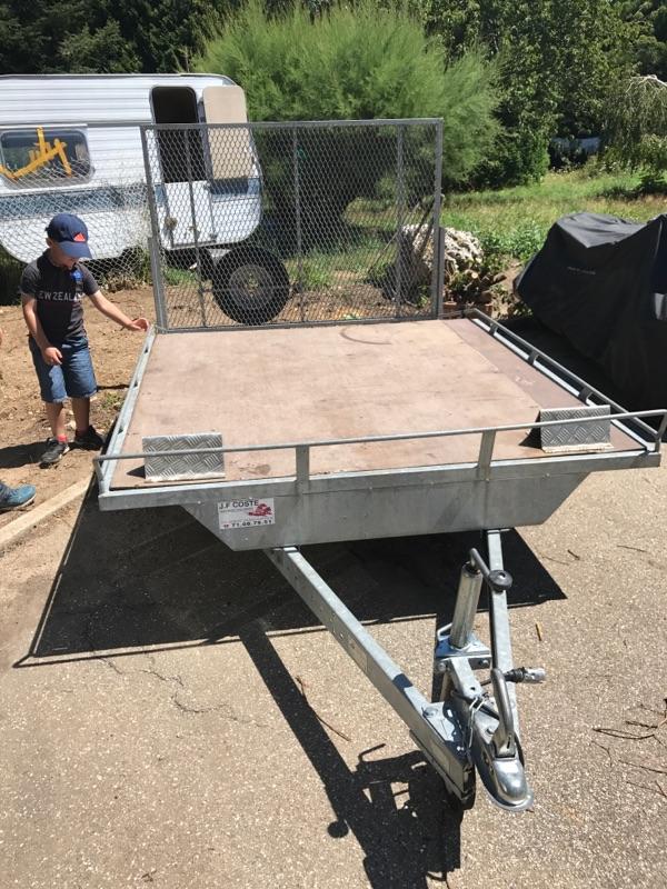 Remorque quad moto spider bateau