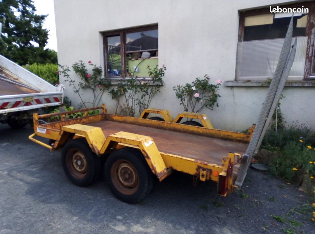 remorque 2 essieux moiroud
