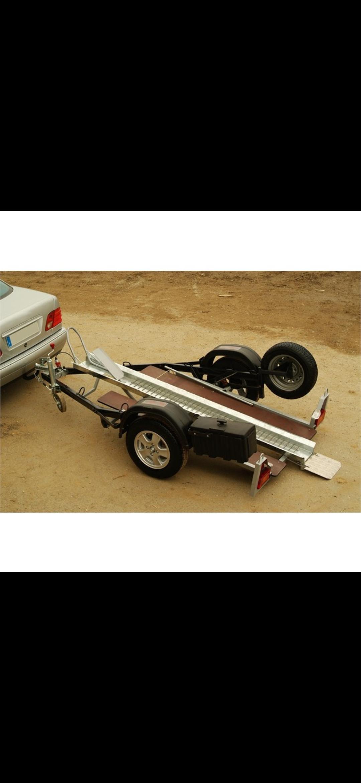 Remorque porte moto Type Top RGW500